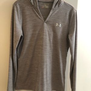 Woman's light V  neck hoodie